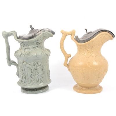 Lot 53 - Julius Caesar jug and a Bacchanalian Dance jug