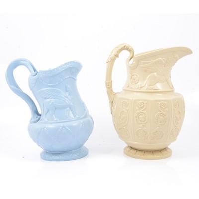 Lot 54 - Stoneware Ninevah jug and a Canova jug