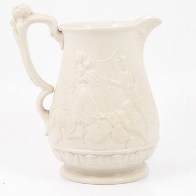 Lot 55 - Stoneware Anti Slavery jug