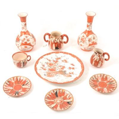 Lot 13 - Quantity of Kutani pottery.