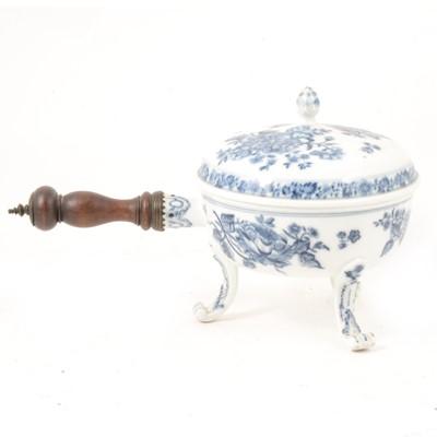 Lot 42 - Meissen porcelain chafing dish.
