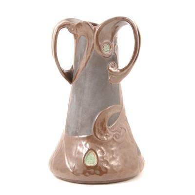 Lot 27 - Bretby Art Nouveau pottery vase.