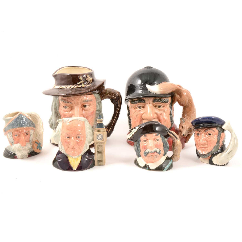 Lot 18 - Royal Doulton character jugs.