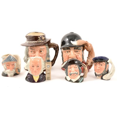 Lot 18 - Royal Doulton character jugs.