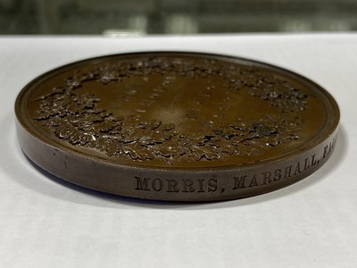 Lot 138 - 1862 London International Exhibition Winners Medal, Morris, Marshall, Faulkner & Co.