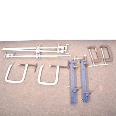Lot 45 - Large quantity of clamps