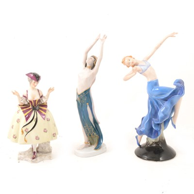 Lot 2 - Rosenthal and other Continental porcelain figures.