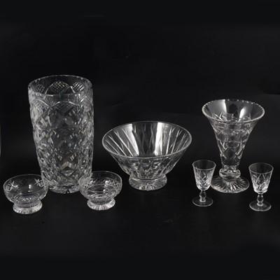 Lot 26 - Table crystal, including Stuart