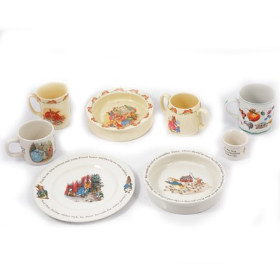 Lot 18 - Small collection of Bunnykins ceramics