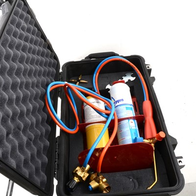 Lot 36 - Pelo 1510 case with welding kit