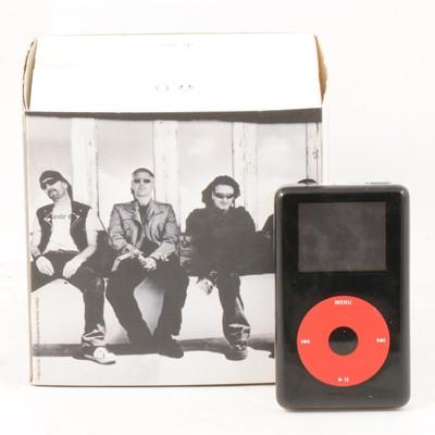Lot 10 - U2 special edition Apple Ipod