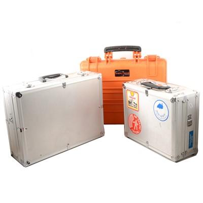 Lot 18 - Three hard cases.