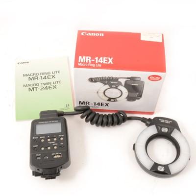 Lot 30 - Canon MR-14EX Macro ring lite