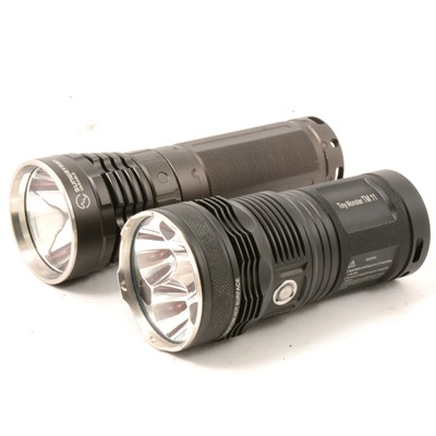 Lot 32 - Two LED torches.