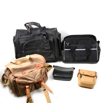 Lot 25 - Selection of camera bags, laptop and lens bags.