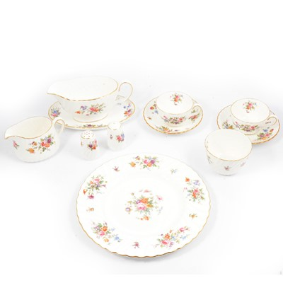 Lot 64 - Minton 'Marlow' pattern part dinner and tea service.