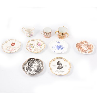 Lot 87 - Large collection of Royal Crown Derby pin dishes.