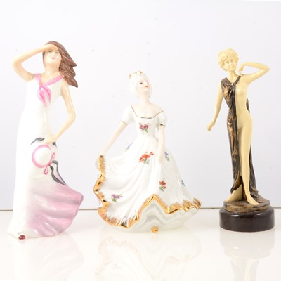 Lot 50 - Collection of Continental porcelain figures