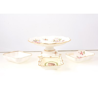 Lot 49 - Royal Crown Derby Derby Posies teaware, other Derby plates, etc.