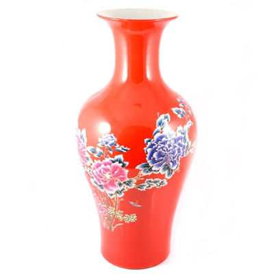 Lot 43 - Very large Chinese Republican period porcelain vase.