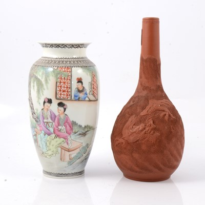 Lot 44 - Two Chinese vases