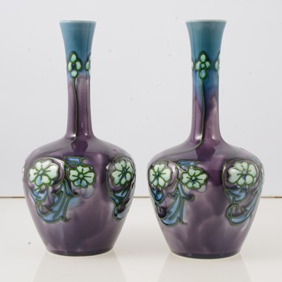 Lot 38 - Pair of Minton Secessionist ware vases