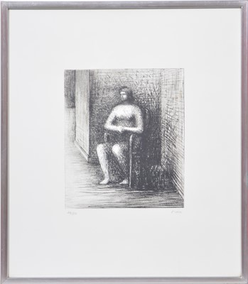 Lot 1067 - Henry Moore - Seated Woman.