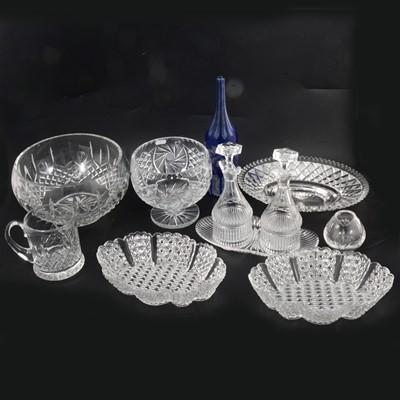 Lot 16 - Glassware