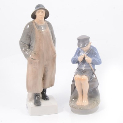 Lot 21 - Two Royal Copenhagen figures