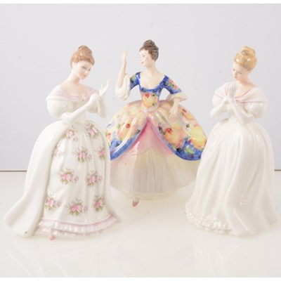 Lot 53 - Collection of twenty one Royal Doulton lady figures