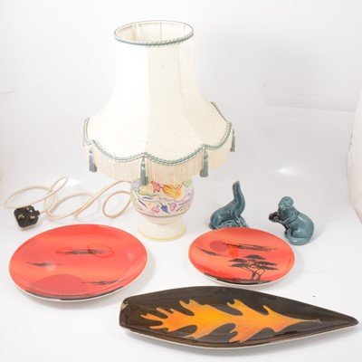 Lot 9 - Poole pottery.