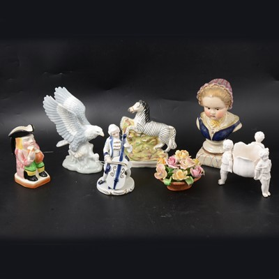 Lot 2 - Ceramic figurines and other decorative items.