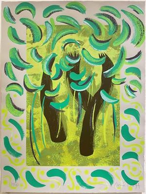Lot 1107 - Michael Heindorff, Tasso Tree, three screenprints from the series