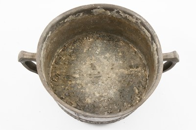 Lot 1002 - David Veasey for Liberty & Co, an Arts & Crafts Tudric pewter bowl