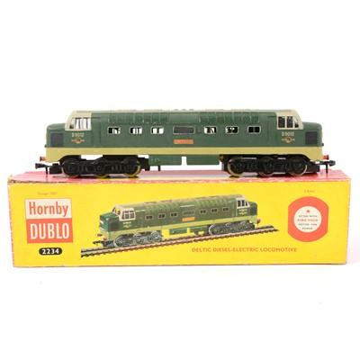 Lot 14 - Hornby Dublo OO gauge model railway locomotive, 2234 Deltic Diesel Electric.