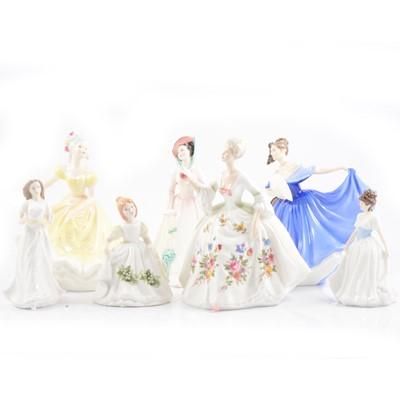 Lot 19 - Seven Royal Doulton figures.