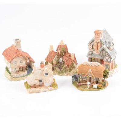 Lot 12 - David Winter and Lilliput Lane cottages.