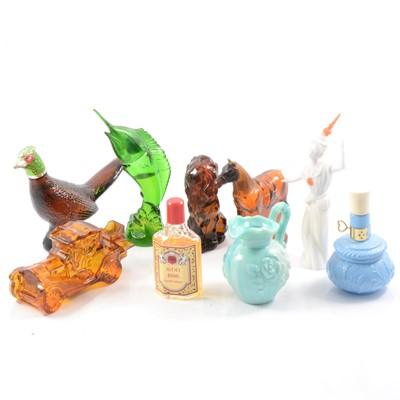 Lot 24 - Avon perfume bottles.