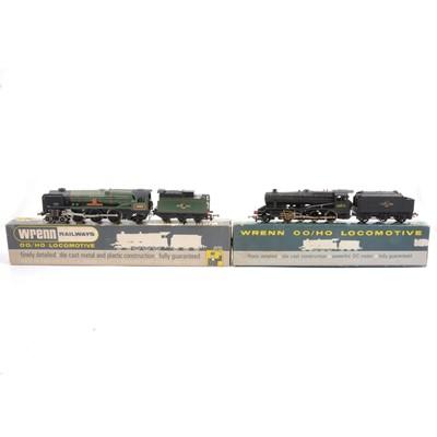 Lot 23 - Two Wrenn OO gauge locomotives W2236 & W2224
