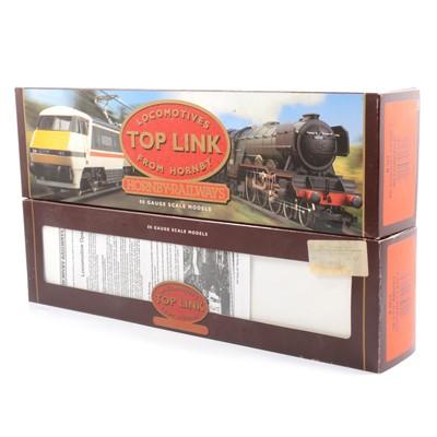 Lot 25 - Two Hornby Top Link series OO gauge model railway locomotives R2018, R317