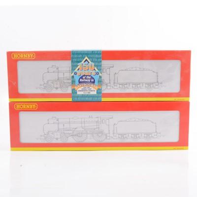 Lot 27 - Two Hornby OO gauge model railway locomotives, R2124, R2144.