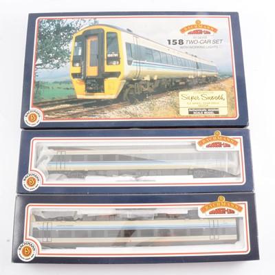 Lot 6 - Bachmann OO gauge model railway diesel locomotive set, 31-500 'Regional Railways'