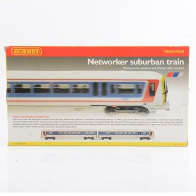 Lot 8 - Hornby OO gauge model railway diesel locomotive twin-pack, R2001 'Network Southeast'