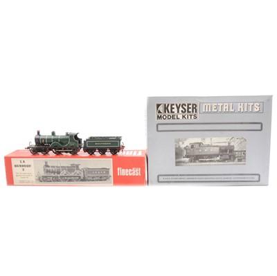 Lot 90 - Two OO gauge white metal model locomotive kits.