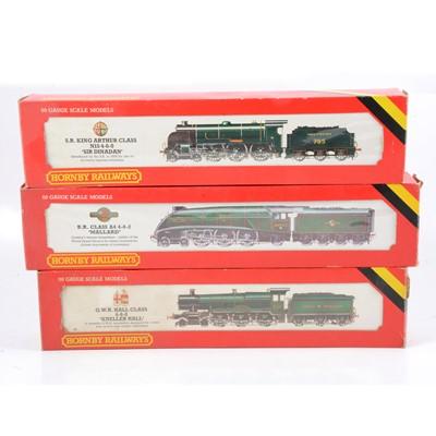 Lot 33 - Three Hornby OO gauge white metal model locomotives, R761, R154, R350.