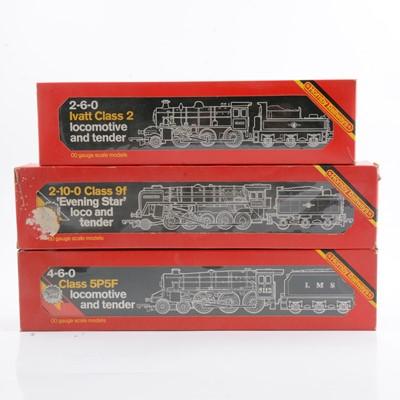 Lot 37 - Hornby OO gauge model railway locomotives R857, R061, R065