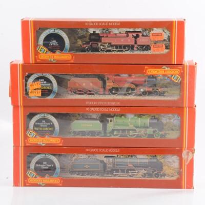 Lot 39 - Four Hornby OO gauge model railway locomotives, R380, R376; R257; R055.