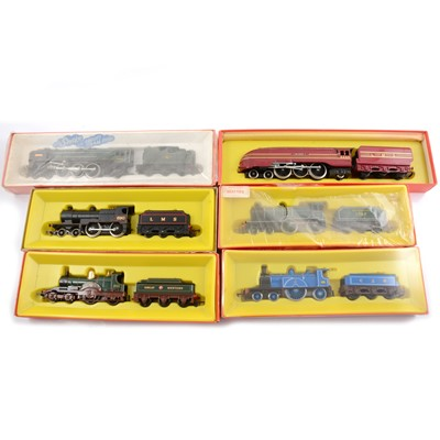 Lot 45 - Six Tri-ang Hornby OO gauge model railway locomotives