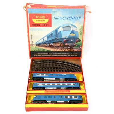 Lot 50 - Triang Hornby OO gauge electric train set RS52, The Blue Pullman, boxed.