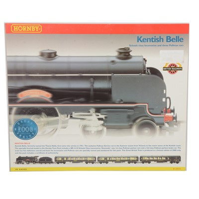 Lot 53 - Hornby OO gauge model railway limited edition train pack R2079 'Kentish Belle', boxed.